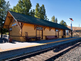 The Wabuska, NV station at Carson City, NV