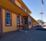 The Fernley NV Train Depot