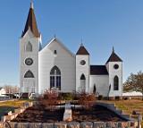 Church and cross