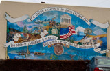 This mural was photographed in Marksville, LA
