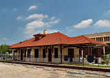 Kingsville TX train Depot