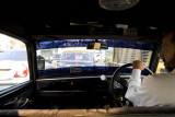 Inside a Mumbai taxi