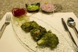 Chilean seabass, corianda & mint masala @ San-Qi