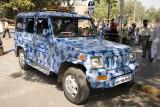 Mumbai Police Combat Vehicle