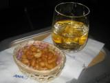 ANA flight: Chili flavoured Cashew