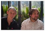 Geoff Hopkinson & Marty Deveney (photo by Chuck)