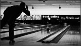 Going for a strike!