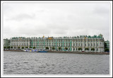 Winter Palace and Neva River