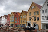 Bryggen Waterfront: Old Timber Houses