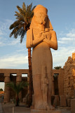 Karnak Temple: Statue of Pharao Ramses II