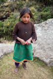 Girl from Huaripampa Valley