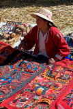 Woman with Handicraft
