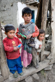 Children from Huaripampa Valley