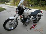 M.E.'s New Bike the S40 Boulevard Suzuki