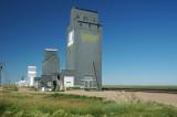 Grain elevators-Kremlin, MT