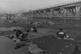 Washing Clothes in Han River 1952