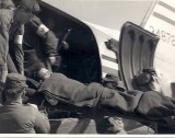 Evacuating wounded from front lines