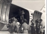 Loading wounded from front lines