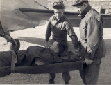 Loading wounded 1952/53