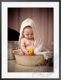 Ava's 6 Month Photos - tub and details