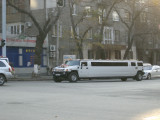 Another stretched Hummer wedding limo
