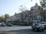 Soviet apartments in rather fetching pink
