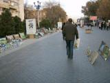 Artists' area on Zhibek Zholy