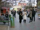 Zhibek Zholy pedestrianised area