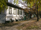 Old houses in side street off Gogol