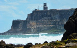 El Morro Fort, seen from Isla de Cabras