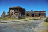 Leper house (Leprocomio) ruins in Isla de Cabras