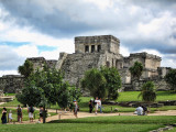 Tulum Mayan Ruins in the Yucatan Peninsula, Mexico
