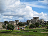 El Castillo at Tulum Mayan ruins, Mexico