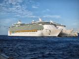 Cruiseship mooring, Cozumel
