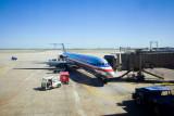 McDonald Douglas MD-80 at Dallas/Fort Worth International Airport