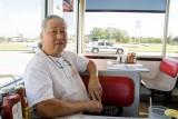 At Waffle House in Breaux Bridge, Louisiana