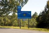 Entering Louisiana