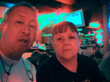 Gail and I at Acme Oyster House