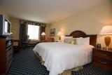 Our room at the Hilton Garden Inn in Lafayette, Louisiana