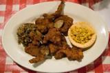 Fried Alligator at Prejean's