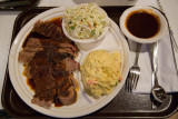BBQ Beef Plate at Pappas BBQ