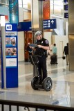 Dallas airport police on a Segway Personal Transporter