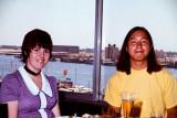 Elva's retirement lunch at Castaway's  June 1972