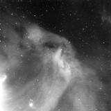 Faint Gas Cloud Near Alnilam