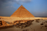 Pyramid over Cairo