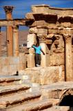 Annie at Palmyra