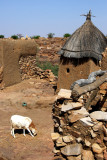 A Goat, Kettle, Hut and Mosque