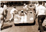 JO BONNIER BRINGS HIS 3RD PLACED LOLA T212 IN FOR FUEL, TARGA FLORIO 1971.jpg