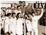 WINNERS CELEBRATE WITH MISS UNIVERSE AFTER THE RACE, 24HRS DAYTONA 1968.jpg