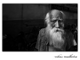 Holy Man in Old Delhi